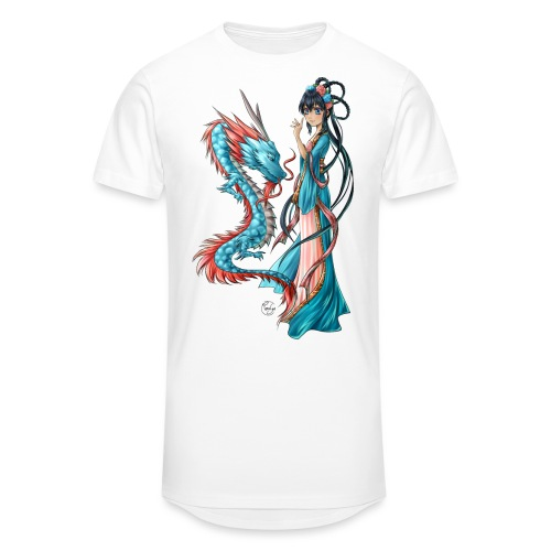 Blue Dragon - T-shirt long Homme