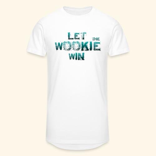 Let The Wookie Win, design 2. - Herre Urban Longshirt