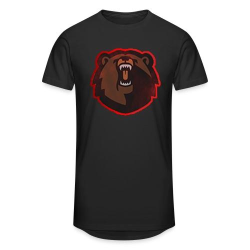 T-shirt - FlaxiZ - Herre Urban Longshirt