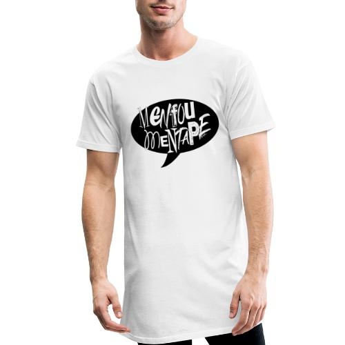 La bulle MENFOUMENTAPE by Alice Kara - T-shirt long Homme