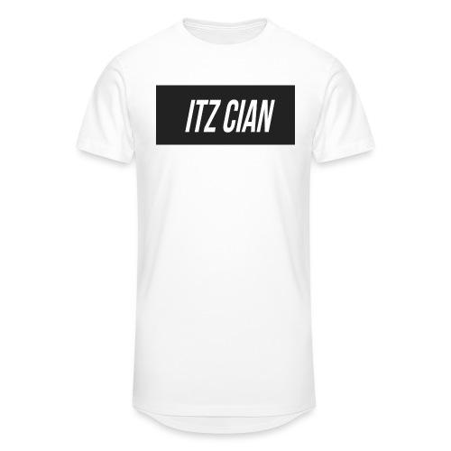 ITZ CIAN RECTANGLE - Men's Long Body Urban Tee