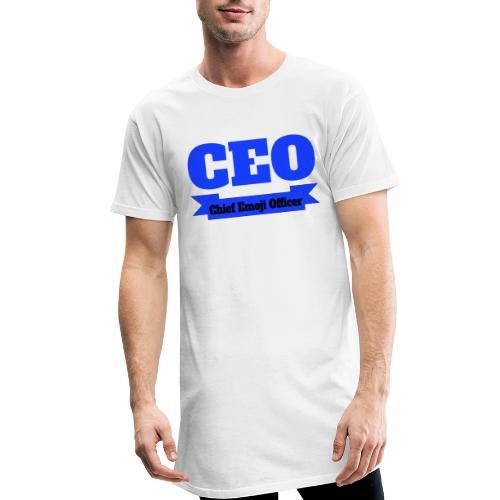 CEO - Chief Emoji Officer - Männer Urban Longshirt