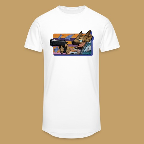 Gun Dog - bez napisu - Długa koszulka męska urban style