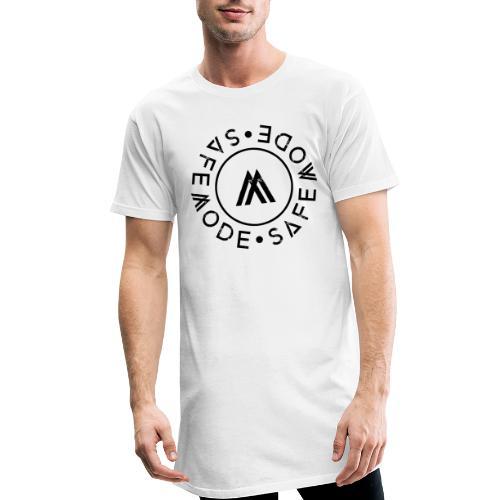 Safemode 2020 - Logo-circle black - Men's Long Body Urban Tee