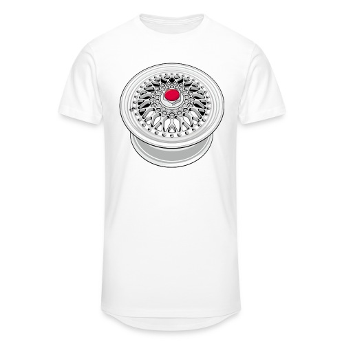 Vintage wheel - T-shirt long Homme