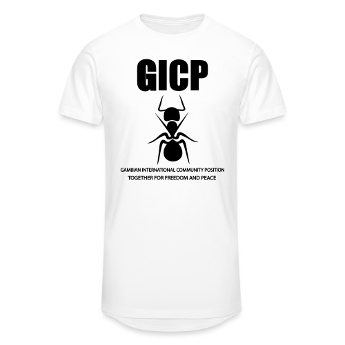 GICP - Men's Long Body Urban Tee