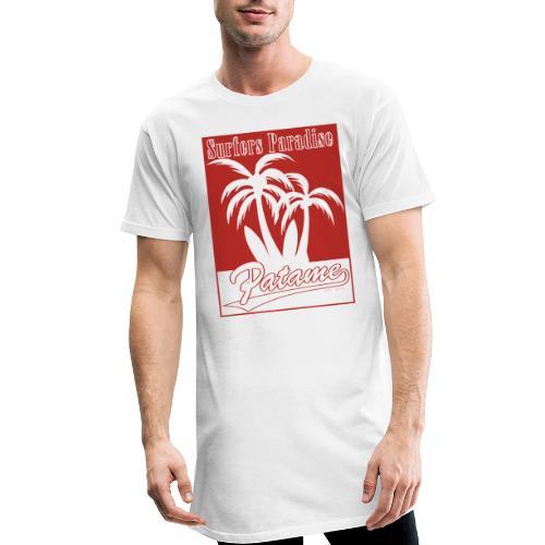 Patame Surfers Paradise Red - Männer Urban Longshirt