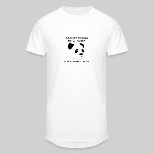 Against Racism Panda - Männer Urban Longshirt