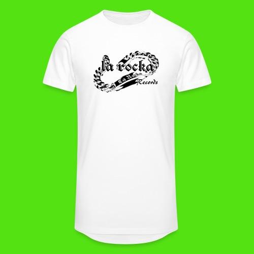 La Rocka - white'n'black2 - Men's Long Body Urban Tee