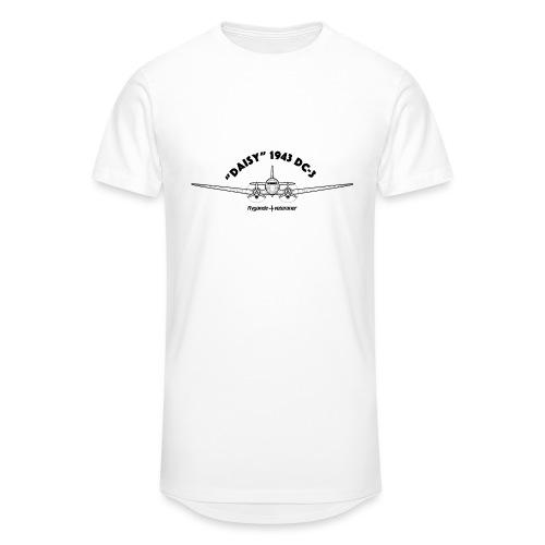 Daisy Blueprint Front 1 - Urban lång T-shirt herr