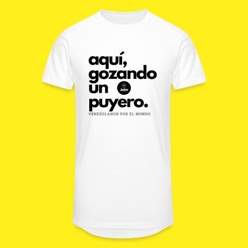 aqui gozando un puyero - Camiseta urbana para hombre