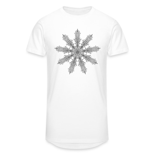 Magic Star Tribal #4 - Men's Long Body Urban Tee