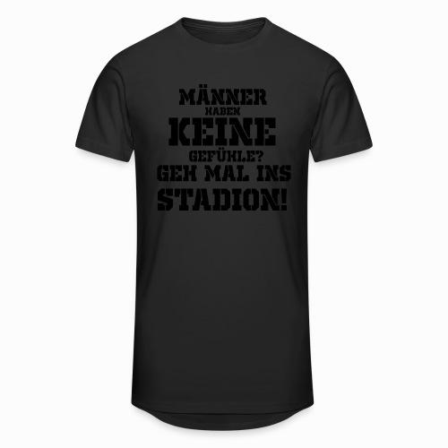 Männer haben keine Gefühle? geh mal ins Stadion! - Männer Urban Longshirt