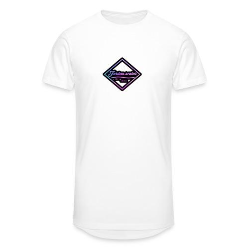 jordan sennior logo - Men's Long Body Urban Tee