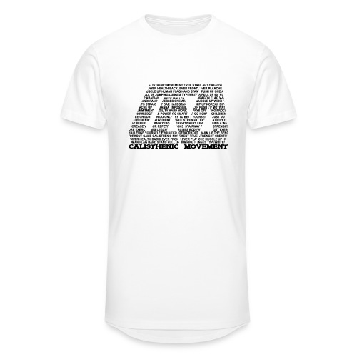 CM Logo aus Text schwarz - Männer Urban Longshirt