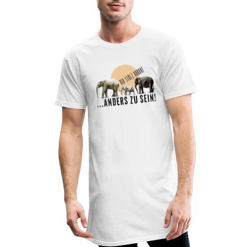 Stolz anders zu sein - Männer Urban Longshirt