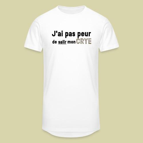 J'ai pas peur de salir mon Crye - T-shirt long Homme