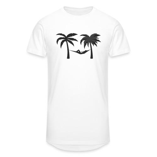 Hängematte mitzwischen Palmen - Männer Urban Longshirt