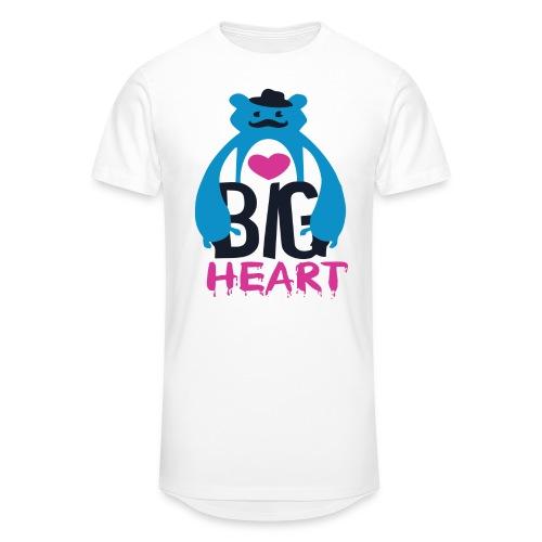 Big Heart Monster Hugs - Men's Long Body Urban Tee