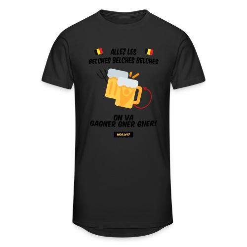 allez belge Par MDR.WTF - T-shirt long Homme