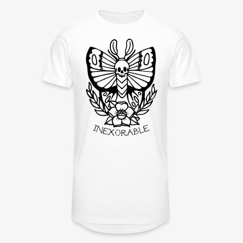 Traditional Tattoo Moth - Men's Long Body Urban Tee