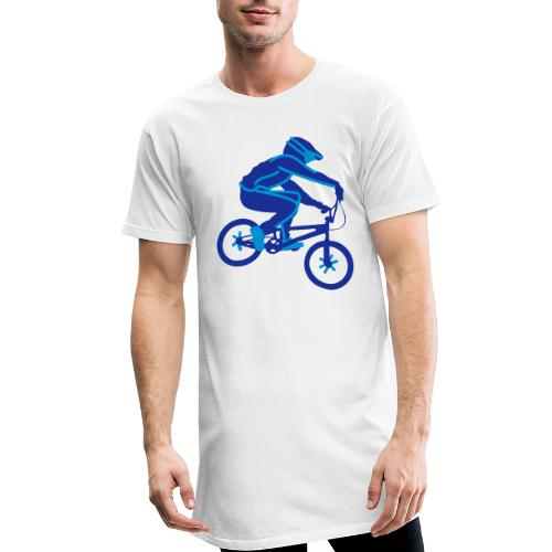 BMX Rider Dark - Mannen Urban longshirt