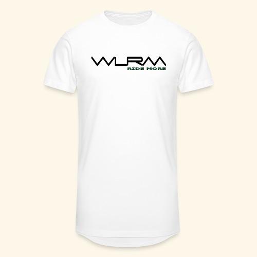 WLRM Schriftzug black png - Männer Urban Longshirt