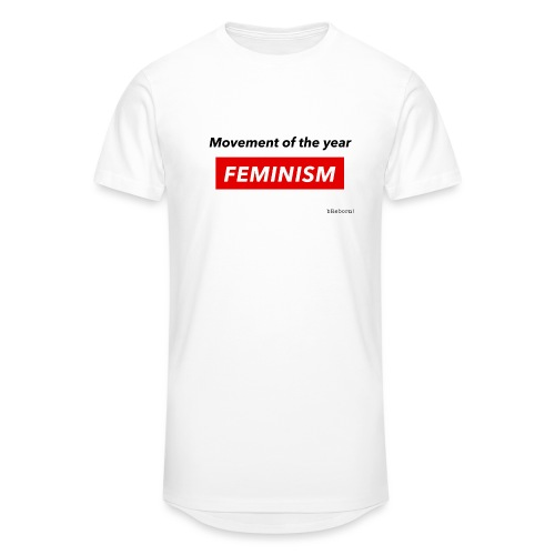 Feminism - Men's Long Body Urban Tee