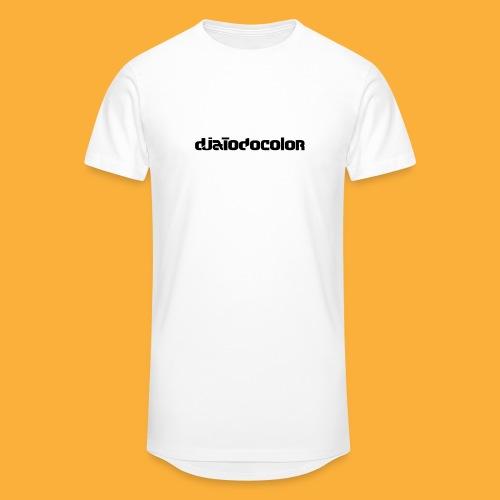 DJATODOCOLOR LOGO NEGRO - Camiseta urbana para hombre
