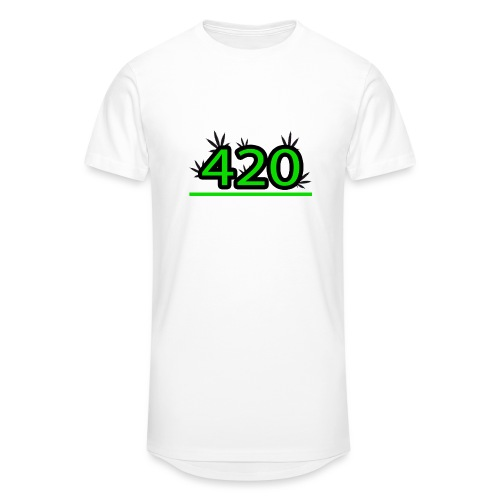420 - T-shirt long Homme