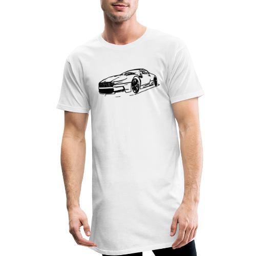 Aston Martin - Men's Long Body Urban Tee