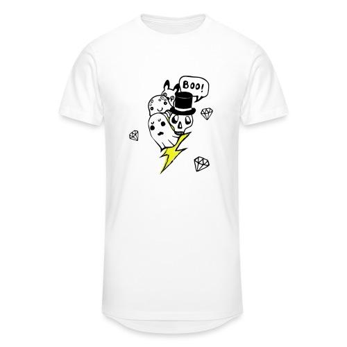 Boo! - Długa koszulka męska urban style