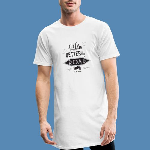 Moto - Life is better on the road - T-shirt long Homme