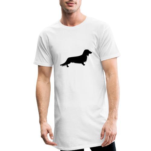 Langhaardackel - Männer Urban Longshirt