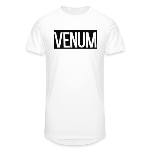 VENUM ORIGINAL WHITE EDITION. - Men's Long Body Urban Tee