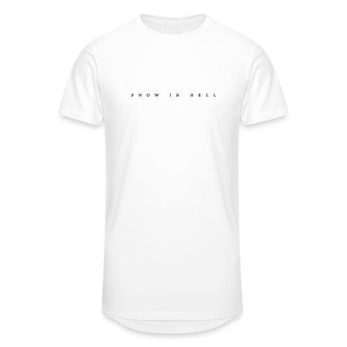 Snow in Hell White - Männer Urban Longshirt
