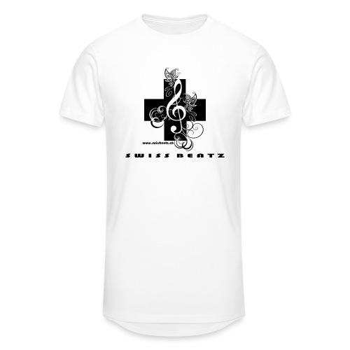 Swiss Beatz Logo with L - Männer Urban Longshirt