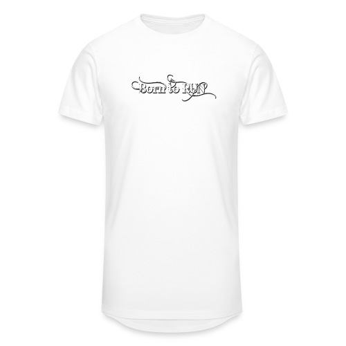 Born-to-RUN---Logo---White.png - Männer Urban Longshirt