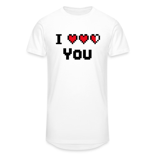 I pixelhearts you - Mannen Urban longshirt