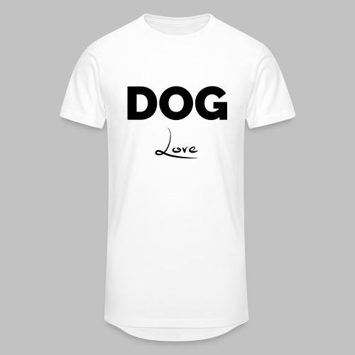 DOG LOVE - Geschenkidee für Hundebesitzer - Männer Urban Longshirt