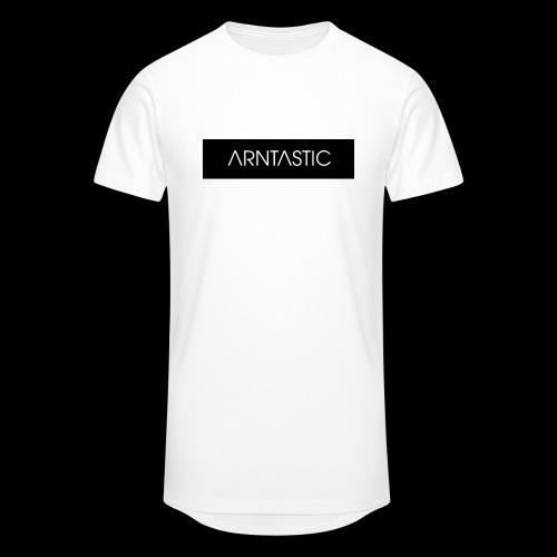 ARNTASTIC balken schwarz - Männer Urban Longshirt