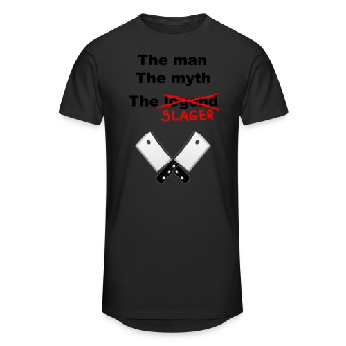 The man, The Myth, The Slager - Mannen Urban longshirt