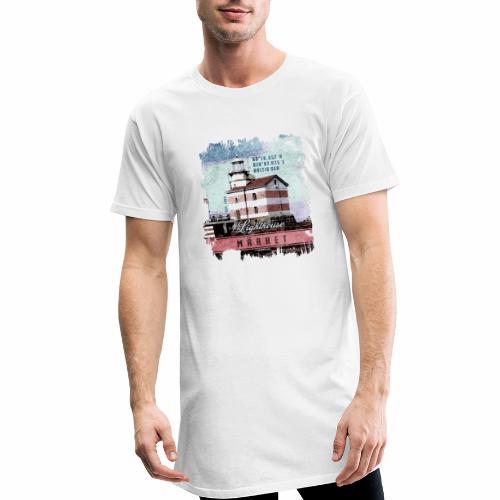 Märket majakkatuotteet, Finland Lighthouse, väri - Miesten urbaani pitkäpaita