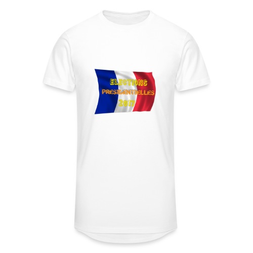 ELECTIONS 2017 - T-shirt long Homme