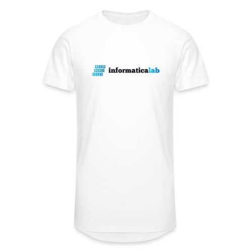 InformaticaLab logo for white background - Maglietta  Urban da uomo