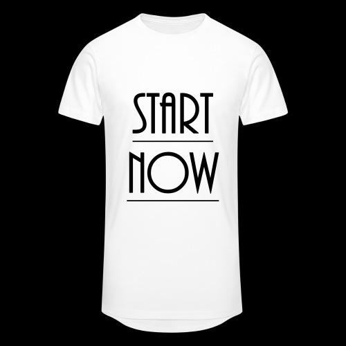 start now - Männer Urban Longshirt