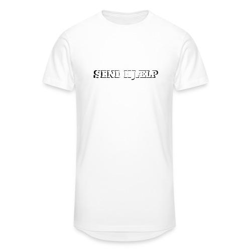 SEND HJÆLP T-shirt - Herre Urban Longshirt