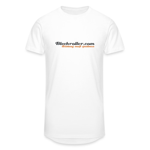 blechroller logo - Männer Urban Longshirt