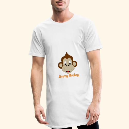 Jimmy Monkey - T-shirt long Homme