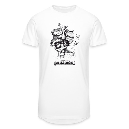 Illu Geeksleague - T-shirt long Homme